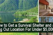 How to Get a Cheap Survival Shelter and Bug Out Location (Under $5000)
