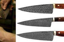 How Bob Makes His Meteorite Knives … Probably the Best Knives in U.S.