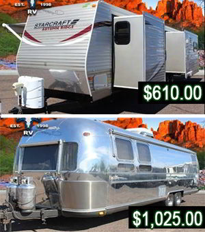used trailers for survival shelter and bug out location