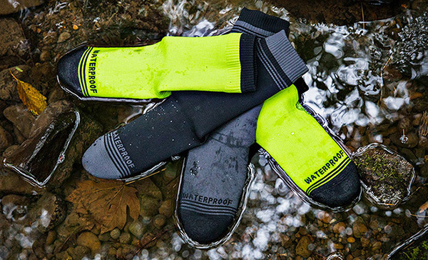 waterproof socks floating