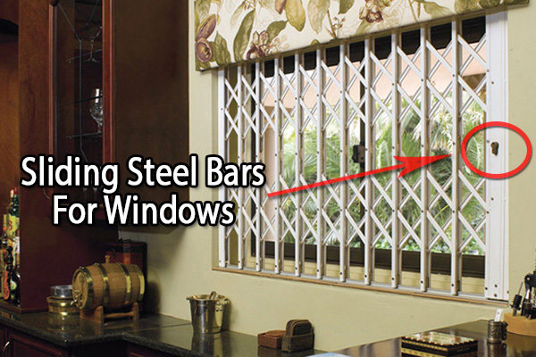 Sliding Steel Bars for windows