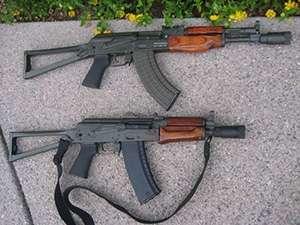 7.62 x 39 (AKs) rifles
