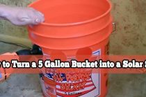 How to Turn a 5 Gallon Bucket into a Solar Still