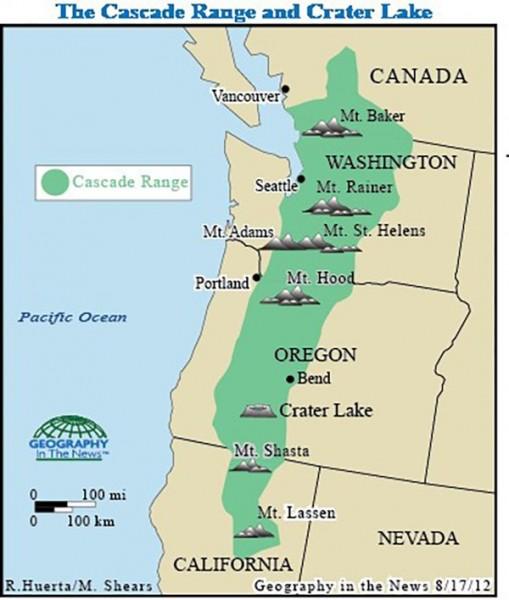The Cascade Mountains of Washington