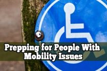 Prepping for People with Mobility Issues