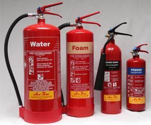 All-Fire-Extinghuier-Types