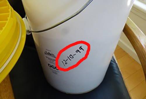 1999 oats nitrogen storage