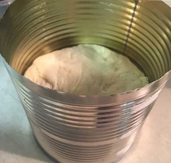 Homemade Bread in a Can