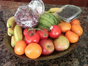 fruitbowl living without a refrigerator