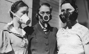 Dustbowl Masks/ Great Depression