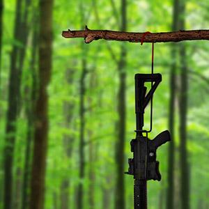 hanging gun