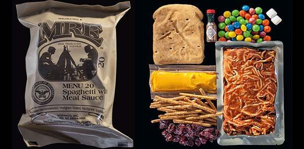 Military US Rations