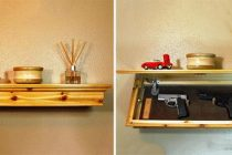 How to Make a Concealment Shelf