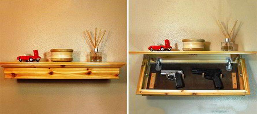 How to Make a Concealment Shelf