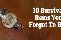 30 Survival Items You Forgot to Buy