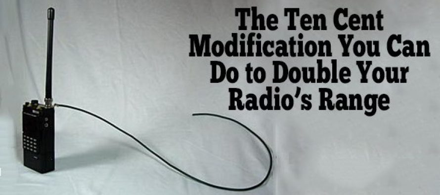 The Ten Cent Modification You Can Do to Double Your Radio's Range