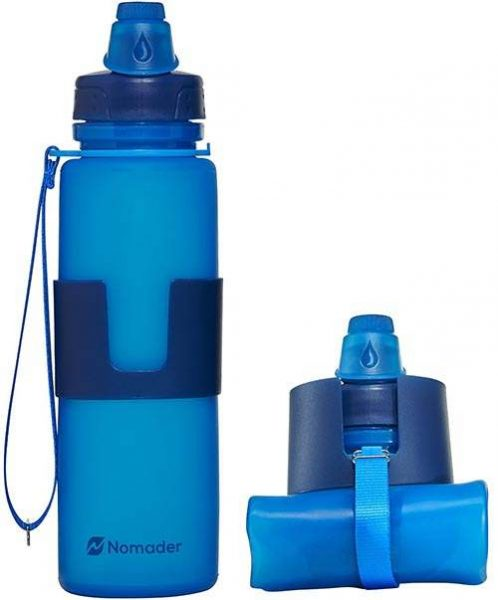 Collapsible-Silicone-Water-Bottle