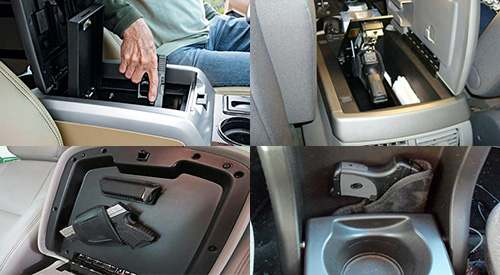 center console concealed weapon