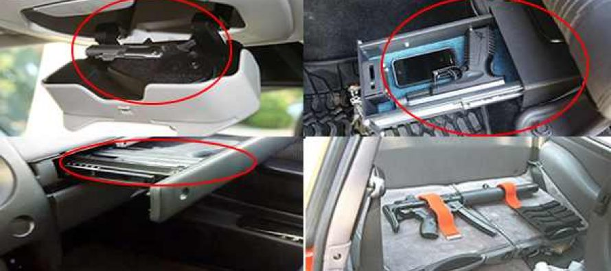 How to Conceal Weapons in Your Vehicle - Ask a Prepper