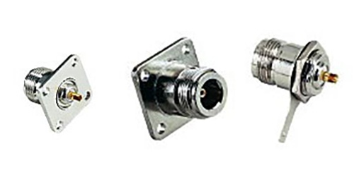 N type Female Chassis-mount connectors