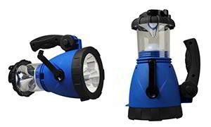 hand cranked lantern