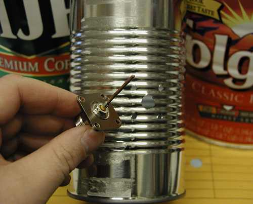 tin can and connectors