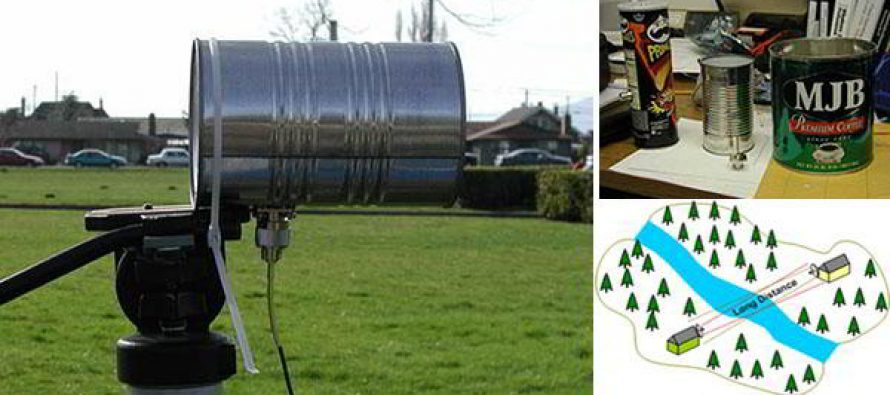 How To Make A Tin Can Directional WiFi Antenna to Extend your Communication after an EMP