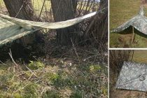 13 Shelters That You Can Build With A Military Poncho
