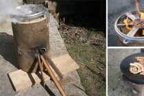 How to Make A Cool Rocket Stove For Free
