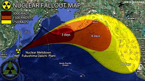 nuclear fallout map
