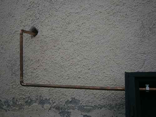 the pipes