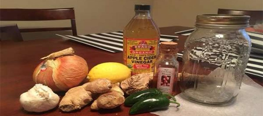"How To Make Fire Cider The Ultimate Natural Remedy To ""Burn"" Your Cold Away"