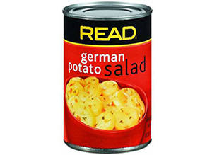 canned potato salad