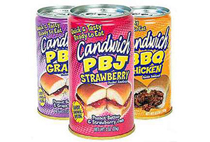 canned sandwhich