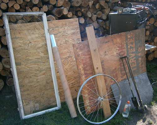 solar stove materials