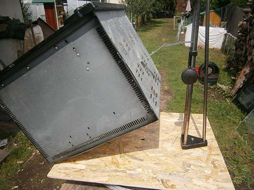 stand for solar stove