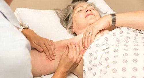 lymph nodes massage