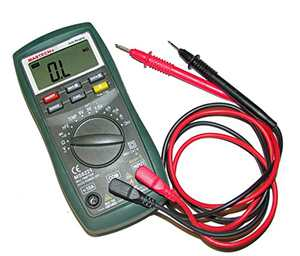 multimeter Turn a Car Battery Into an Emergency Power Source For the Home