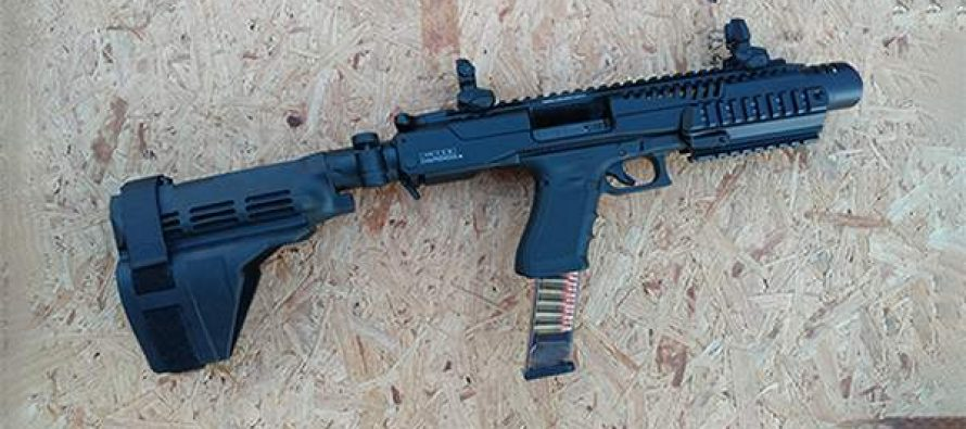 How to Turn a Handgun Into a PDW using KPOS kit from FAB Defense with a SIG Brace