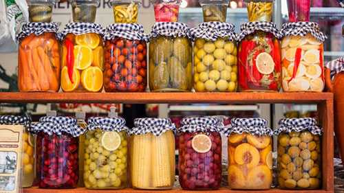 Home-Canned Fruits, Vegetables & Meats