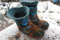 How to Make The Coolest Wool Boots Ever, Easily