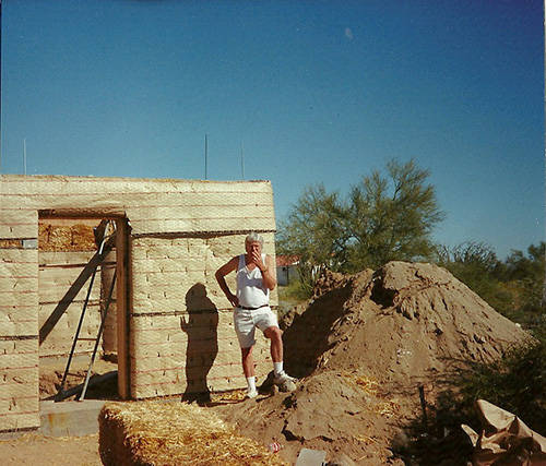 Strawbale Bug Out House 7