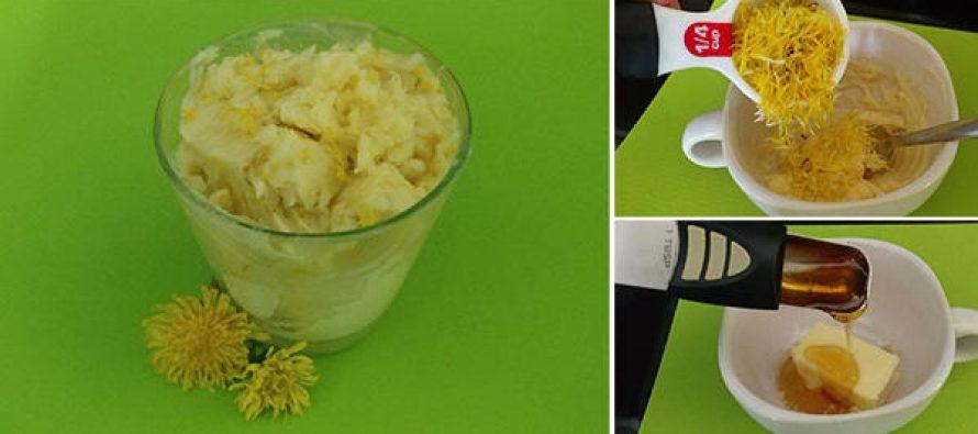 How To Make Dandelion Honey Butter