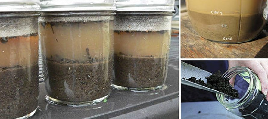 DIY – Mason Jar Soil Test