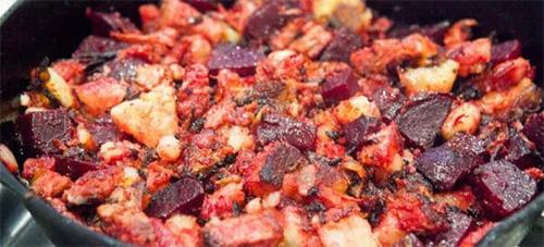 8 Old West Cowboy Recipes red flannel hash