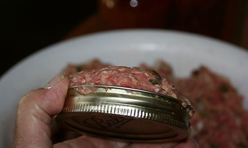 Canning Meatloaf for Meals in a Jar