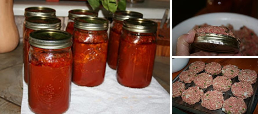 Canning Meatloaf for Meals in a Jar