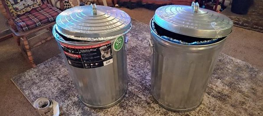5-Minutes DIY Tested Faraday Cage Out Of A Trash Can