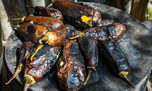 How to Can Eggplant with Pepper for a Long Time Storage