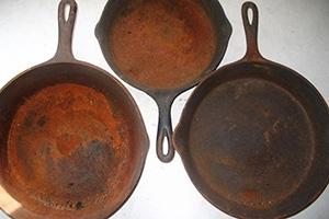 rusty pan